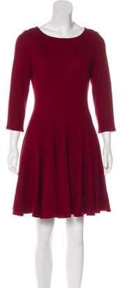 Issa Virgin Wool Mini Dress