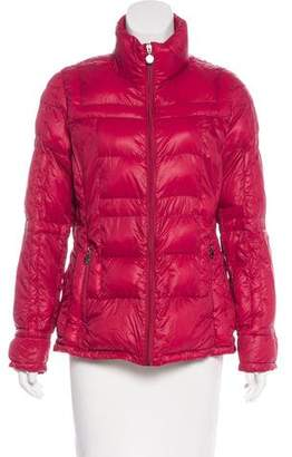 Calvin Klein Collection Zip-Up Down Jacket