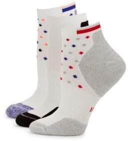 Hue Quarter Top Cushion Socks