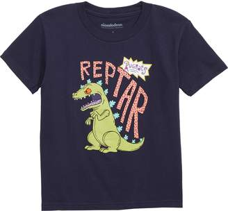 Mighty Fine Nickelodeon Reptar Rugrats Graphic T-Shirt