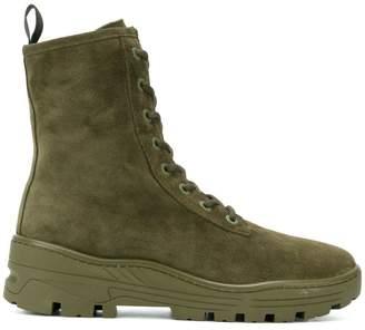Yeezy Adidas Season 6 combat boots