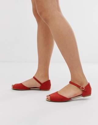 1f58735c3ca6 Red Peep Toe Shoes - ShopStyle UK