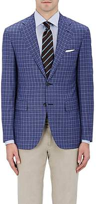 Canali Men's Capri Checked Wool Two-Button Sportcoat $1,475 thestylecure.com