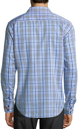 Robert Graham Men's Cape Vincent Plaid Woven Shirt