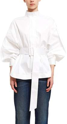 Opening Ceremony Belted Long-Sleeve Top