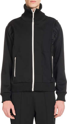 Maison Margiela Men's Zip-Front Sweat Jacket