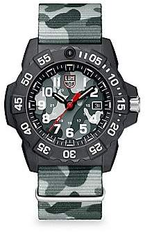 Luminox Navy Seal Trident Diver Strap Watch