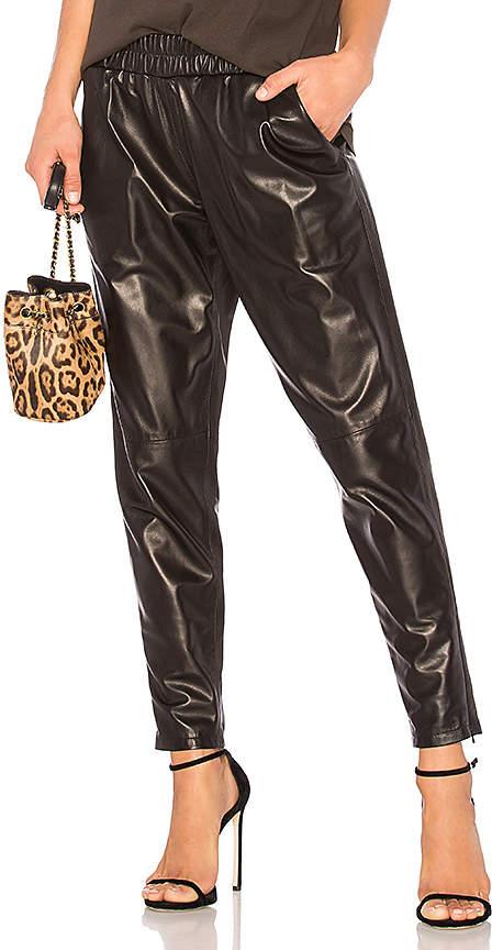 MLML Leather Jogger