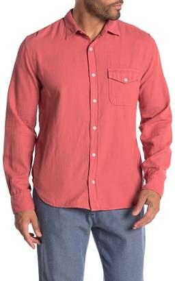 Save Khaki Oatmeal Flannel Shirt