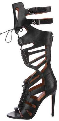 Rebecca Minkoff Leather Gladiator Sandals