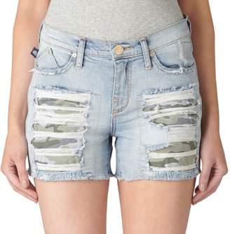 Rock & Republic Women's Hula Ripped Jean Shorts