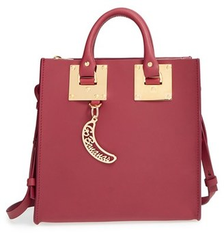 Sophie Hulme Square Leather Tote $765 thestylecure.com