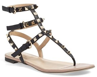 Women's Valentino 'Rockstud' Sandal $975 thestylecure.com