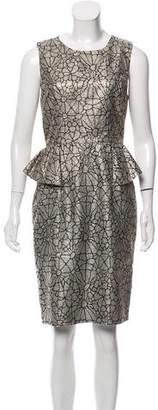 Erin Fetherston ERIN by Brocade Knee-Length Dress