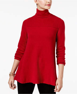 Style&Co. Style & Co Petite Turtle Neck Tunic Sweater