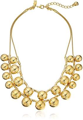 Kate Spade Tone Double Strand Necklace