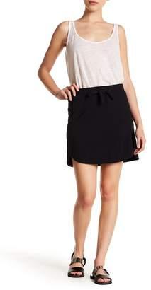 Susina Knit Pull-On Shirt Tail Skirt