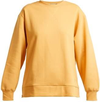 adidas by Stella McCartney Crew-neck cotton-jersey sweater