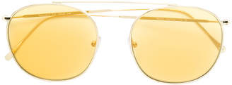 Illesteva round shaped sunglasses
