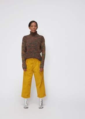Marni Long Sleeve Marled Turtleneck Sweater