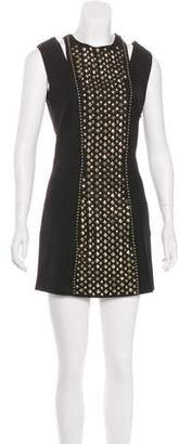 Pierre Balmain Embellished Wool Dress