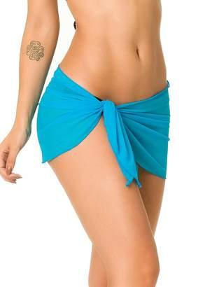 2a7fbf14b2f30 THE MESH KING Coqueta Swimwear Sexy Mesh Cover up Beach Sarong Pareo Canga  Swimsuit Wrap Small