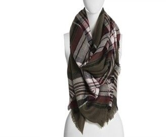 Kelly & Katie Plaid Blanket Scarf