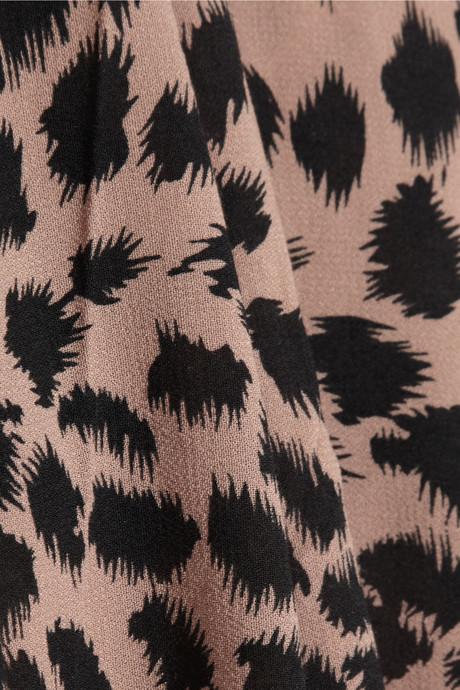 Zimmermann Sundown animal-print crepe maxi dress