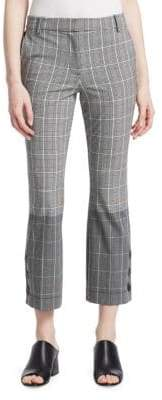 Derek Lam 10 Crosby Checked Button Pants