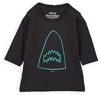 Munster Infants' Shark-Print Cotton T-Shirt