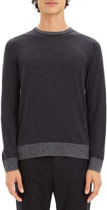 Theory Rothley Castellos Regular Fit Merino Wool Sweater
