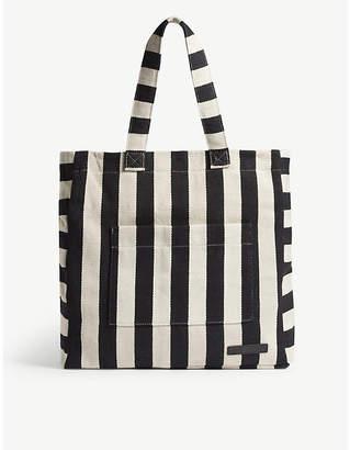 Zimmermann Striped cotton canvas tote