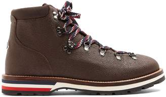 Moncler Peak grained-leather ankle boots