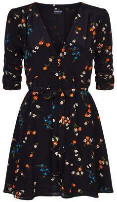 Nicholas Vintage Daisy Mini Dress