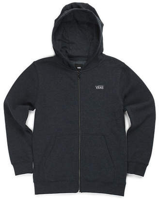 Boys Core Basic Zip Hoodie