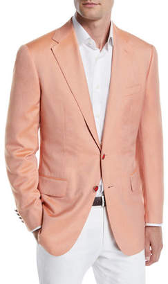Stefano Ricci Men's Solid Two-Button Jacket