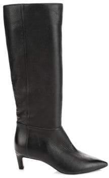 Aquatalia Macey Leather Knee-High Boots