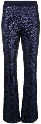 P.A.R.O.S.H. sequin bootleg trousers