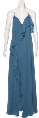 Haute Hippie Silk Maxi Dress w/ Tags