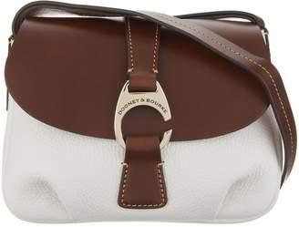 Dooney & Bourke Leather Small Flap Crossbody Handbag - Derby