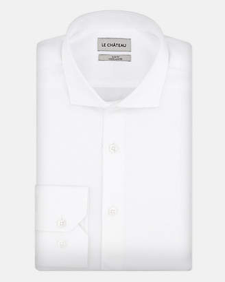 Le Château Cotton Sateen Slim Fit Shirt