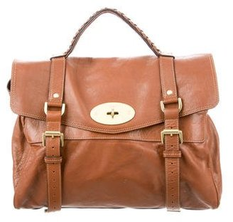 Mulberry Leather Alexa Bag $600 thestylecure.com