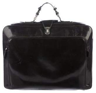 Marni Glazed Leather Briefcase