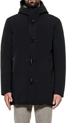 Rrd Roberto Ricci Design RRD - Roberto Ricci Design Black Montgomery Hooded Down Jacket