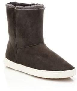 Rag & Bone Kali Suede & Shearling Sneaker Boots