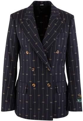 Gucci GG striped wool blazer