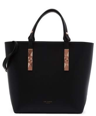 204b8e3c4 Ted Baker Jaceyy Adjustable Handle Leather Shopper