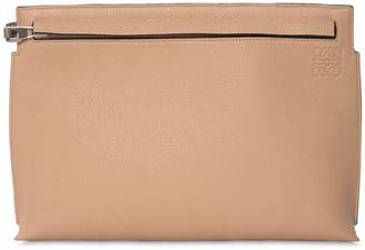 Loewe T Leather Pouch