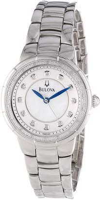 Bulova Women's 96R174 Diamond Set Case Watch