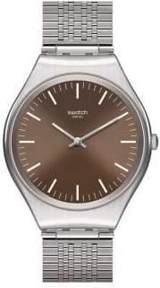 Swatch Skin Irony Skinboot Stainless Steel Mesh Bracelet Analog Watch